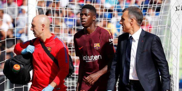 Dembélé no podrá volver a jugar con el Barça hasta 2018 por
