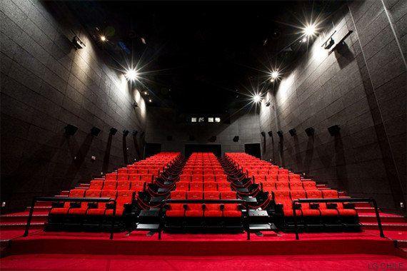 Viento, agua, butacas que se mueven: bienvenidos al cine