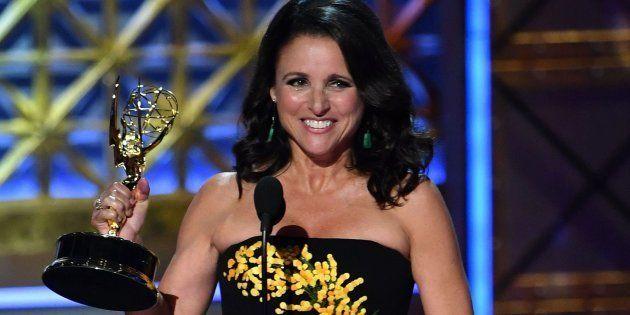 Julia Louis-Dreyfus recogió este domingo su sexto Emmy consecutivo por
