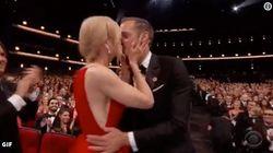 Por qué besó Nicole Kidman a Alexander Skarsgård en los