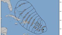 El huracán María sube a categoría 3 mientras se acerca a las Antillas