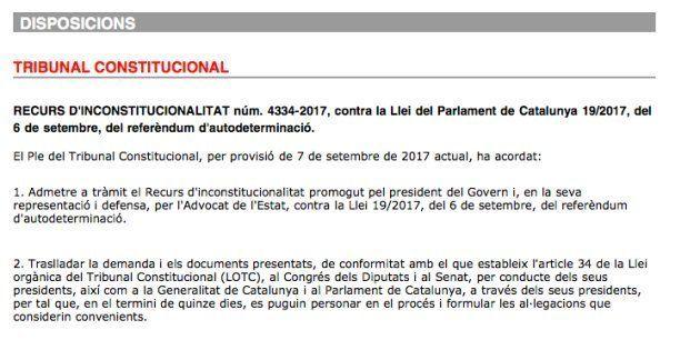 Diari Oficial de la Generalitat de