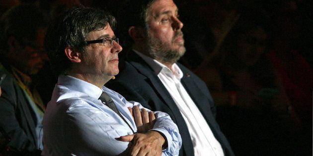 Carles Puigdemont y Oriol