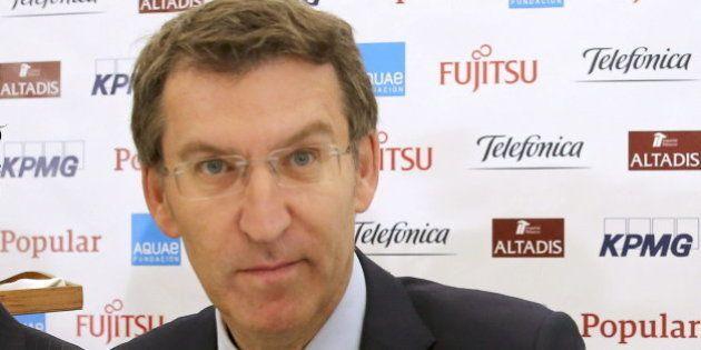 Feijóo, sobre la sucesión de Rajoy: