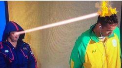 La explicación de Phelps a la cara de asco que puso ante un