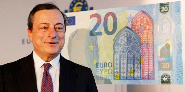 Draghi ganó 379.608 euros como presidente del Banco Central Europeo en