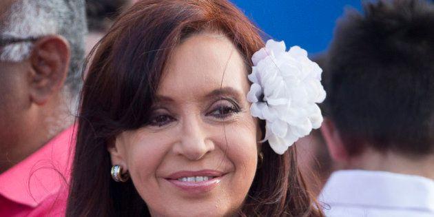 Cristina Fernández, de visita privada en