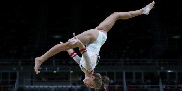 Las impresionantes fotos de la competición de gimnasia en