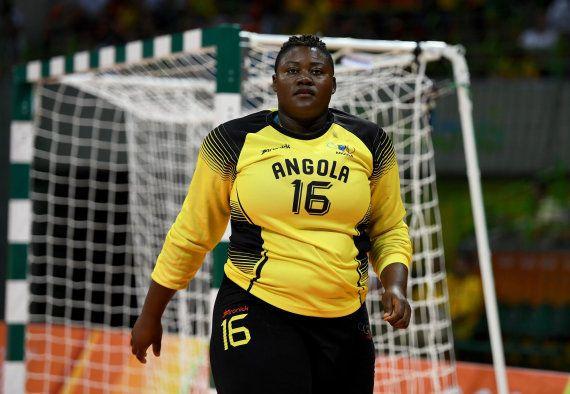 Teresa Almeida, la jugadora de balonmano que mide 1,70 y pesa 98 kilos: