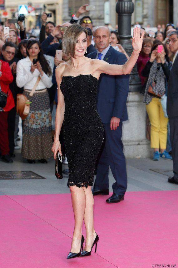 La reina Letizia estrena corte de pelo en los I Premios Woman