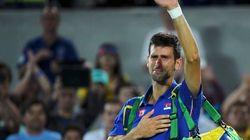 La desolación de Djokovic tras caer a las primeras de cambio: