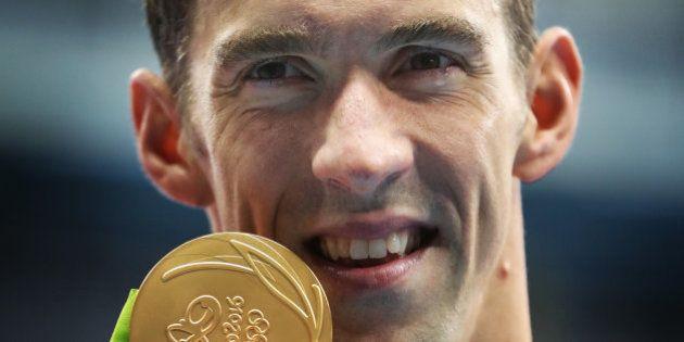 Phelps agranda la leyenda con su medalla
