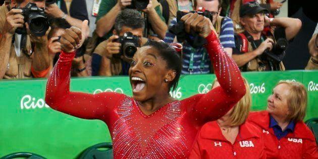 Simone Biles gana su tercera medalla de oro en