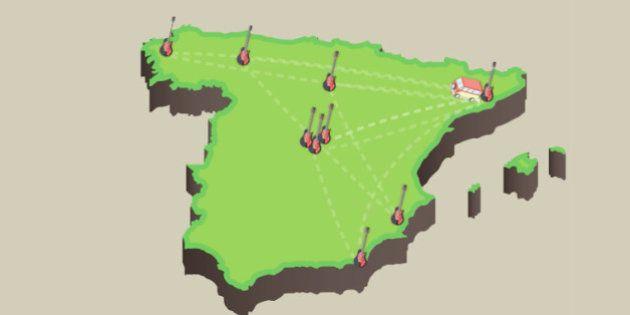 ¿Cuántos kilómetros recorre un grupo en verano? El caso real de Sidonie durante