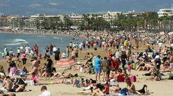 España recibe a 500.000 turistas más en el primer trimestre de