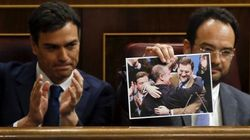 Pedro Sánchez alborota el Congreso con otro