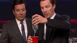 El truco de magia de Benedict Cumberbatch que dejó a Jimmy Fallon con esta