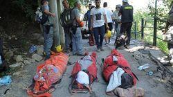Unos padres y sus dos hijos mueren abrazados en el terremoto de