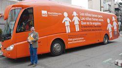'Hazte Oír' vuelve a sacar su autobús tránsfobo a la calle contra la Ley de Igualdad LGTBI: