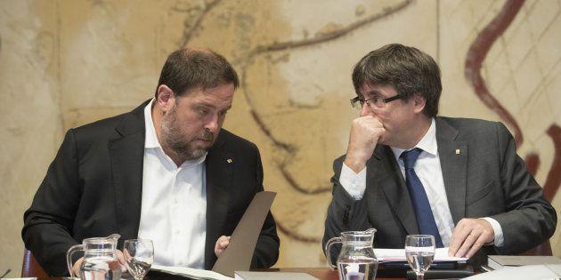 Junqueras considera que los tribunales han suspendido la intervención de sus