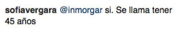 Sofía Vergara destroza con seis palabras a un seguidor que criticó su