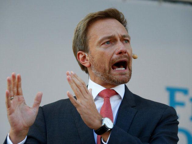 El líder del FDP, Christian