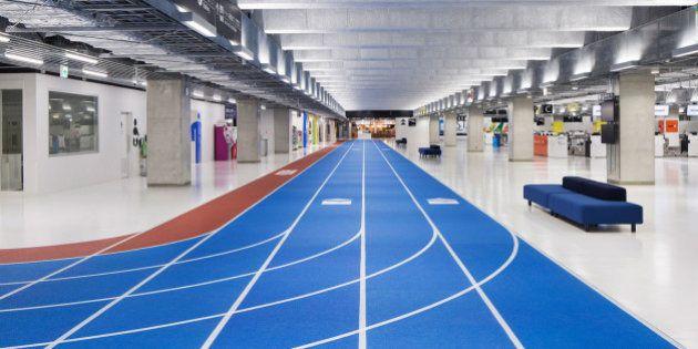 Una pista de atletismo en un aeropuerto: así prepara Tokio los Juegos Olímpicos de