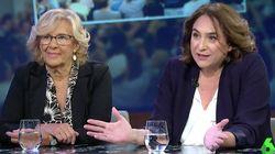 Carmena y Colau señalan que hay tiempo para reconducir la situación antes del