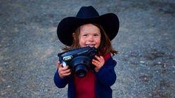 Conoce al fotógrafo de 5 años que encandila en