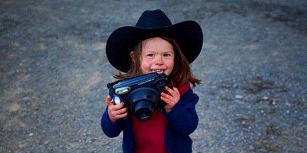 Hawkeye Huey, el fotógrafo de 5 años que triunfa en