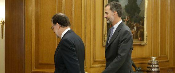 Rajoy acepta el encargo del rey: