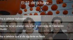 ¿Qué vas a hacer la noche del 31 de octubre?