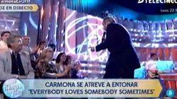 Carmona se arranca por Dean Martin en