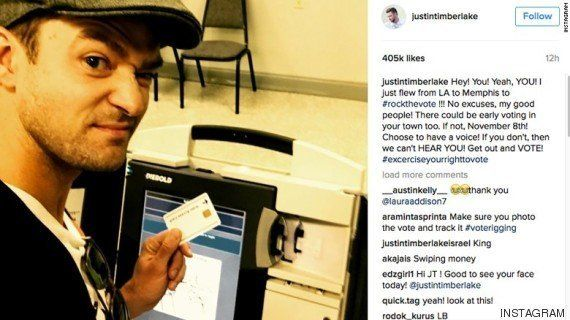 Justin Timberlake infringe la ley por hacerse un selfi