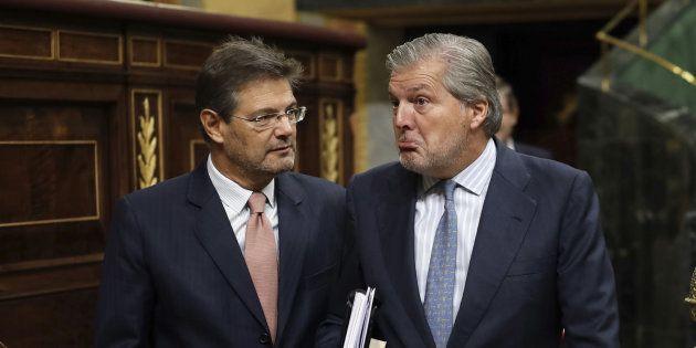 Rafael Catalá e Íñigo Méndez de
