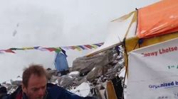 El impactante vídeo de la avalancha en el
