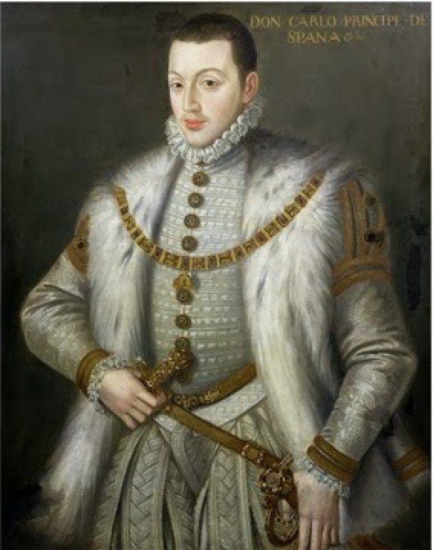 Copia del desaparecido 'Retrato de Don Carlos' de Sofonisba Anguissola, por A. Sánchez Coello