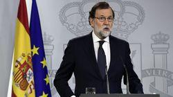 Comparecencia institucional de Rajoy por el