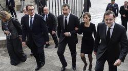 Funeral por las víctimas del avión de Germanwings en