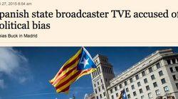 Las críticas a TVE llegan al 'Financial