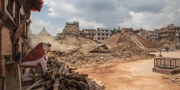 Las labores de rescate en Nepal y otras fotos del
