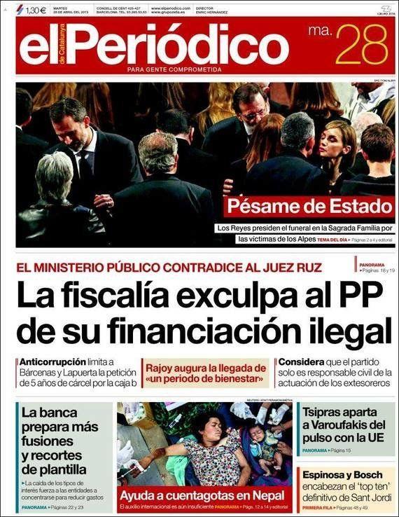 Rajoy al timón y Varufakis al