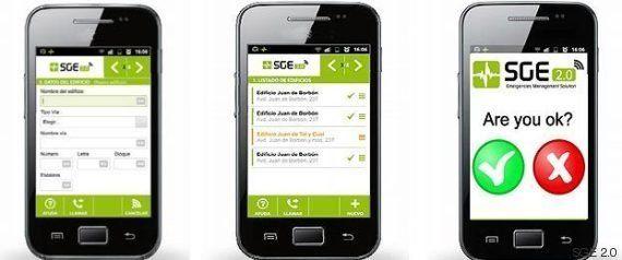 Smartphones para detectar terremotos y coordinar