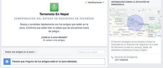 Terremoto en Nepal: Google, Facebook y Twitter, herramientas para buscar a
