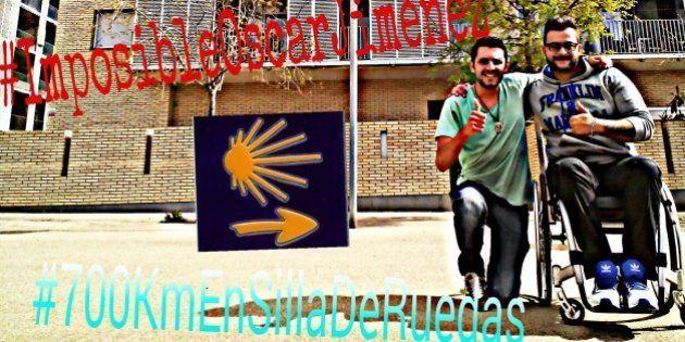 Óscar Jiménez, el hombre que hará el Camino de Santiago en silla de ruedas con un fin