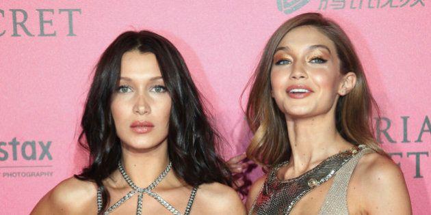 Esta foto de hace 17 años ya predijo que Bella y Gigi Hadid serían ángeles de Victoria's