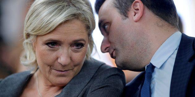 Imagen de archivo de Marine Le Pen y su