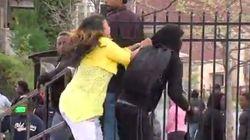Cuando tu madre te pilla en los disturbios de Baltimore...