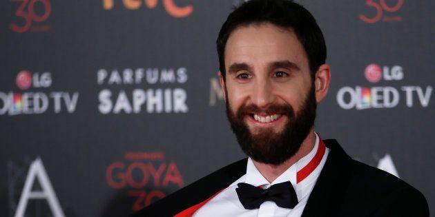 Dani Rovira en la alfombra roja de los Goya, el 6 de febrero de