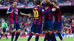 El Barça abusa del Getafe y sigue firme hacia el